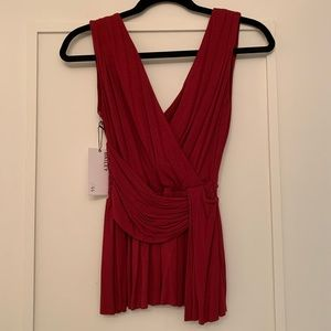 Bailey 44 Sleeveless Red Top
